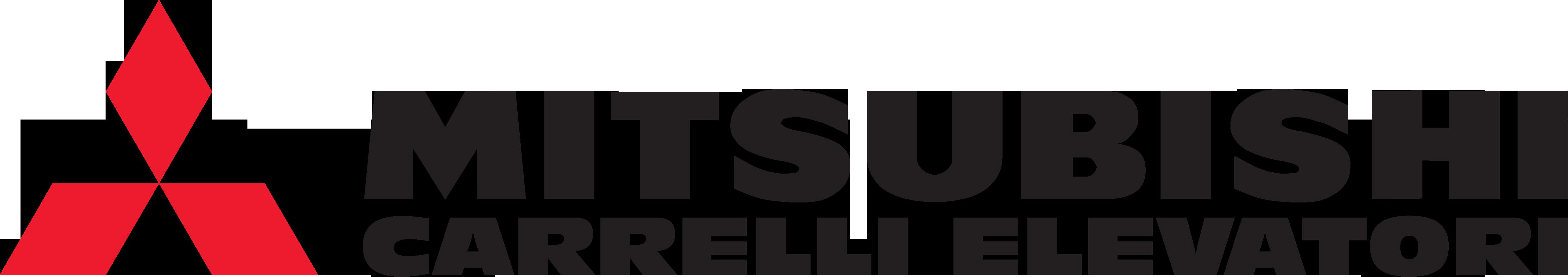 logo mitsubishi carrelli elevatori bologna