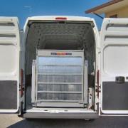sponde idrauliche per furgoni Anteo mod. F3IV032