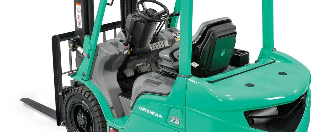 Mitsubishi Carrelli Elevatori Diesel GRENDIA ES Bologna 1